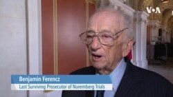 Ben Ferencz: 'Until We Have a Happier World for Everyone'