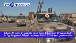 VOA60 Africa - UN Appeals for Humanitarian Truce in Libya