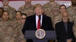 特朗普突訪阿富汗 與美軍共渡感恩節 (粵語)