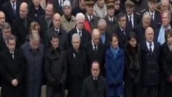 法國為巴黎襲擊受難者舉行悼念儀式