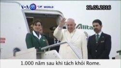 Đức Giáo hoàng Phanxicô đến Cuba (VOA60)