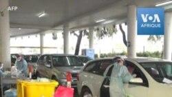 En Australie, dépistage du coronavirus en voiture