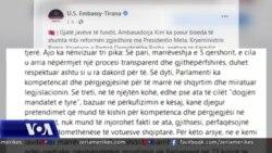 Shqipëri, ambasada amerikane për ndryshimet kushtetuese