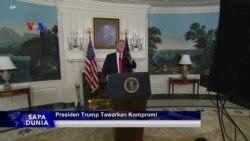 Sapa Dunia VOA: Presiden Trump Tawarkan Kompromi