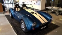 3-D Printer Makes Replica of Iconic Sports Car