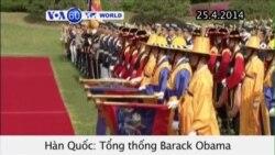 Tổng thống Obama tái khẳng định cam kết của Mỹ với Seoul (VOA60)