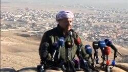 2015-11-14 美國之音視頻新聞: 伊拉克總統讚揚庫爾德人收復辛賈爾