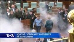 Përsëri gaz lotsjellës në parlamentin e Kosovës