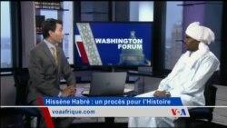 Washington Forum du jeudi 2 juin 2016 : Hissène Habré, un procès pour l'Histoire