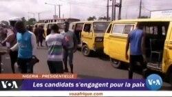 Les candidats s'engagent pour la paix