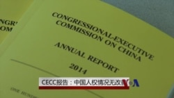 VOA 专访:CECC年度报告称中国人权无改善