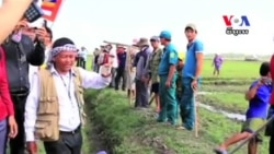 Villagers Clash With Vietnamese Border Security