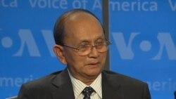 Tổng thống Miến Điện đối thoại tại đài VOA