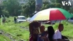 NO COMMENT – Մանիլայի երկաթուղային սայլերը