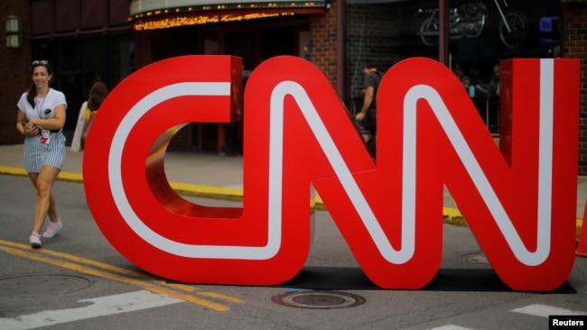 Ảnh minh họa hình logo của CNN.