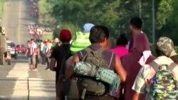 2018-11-09 美國之音視頻新聞: 美國政府計劃收緊在美墨邊境要求庇護的程序