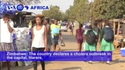 VOA60 Africa - UN: Zimbabwe Cholera Outbreak Now a 'Very Dire Situation'