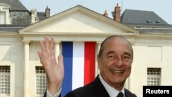Perezida Jacques Chirac mu 2006