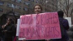 Марш солидарности в Нью-Йорке