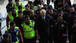 2018-09-20 美國之音視頻新聞: 馬來西亞前總理出庭否認貪腐指控