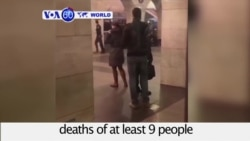 VOA60 World - Deadly Explosion Hits St. Petersburg Metro