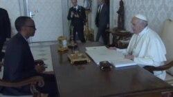 """Le pape """"implore le pardon de Dieu"""" pour le génocide au Rwanda (vidéo)"""