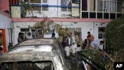 امریکی حکام کے مطابق ڈرون حملے کے بعد ایک بڑا دھماکہ ہوا۔ جس سے ثابت ہوتا ہے کہ گاڑی میں دھماکہ خیز مواد تھا۔ (فائل فوٹو)