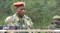Un groupe armé dépose les armes dans le Nord-Kivu
