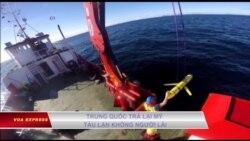 Trung Quốc trả lại Mỹ tàu lặn không người lái