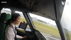 Nữ phi công Trung Quốc phá vỡ định kiến giới tính