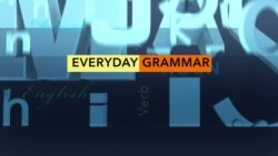 "Everyday Grammar episode 69 ""Because of & Due to"""