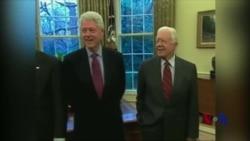 VOA专访:90岁高寿前总统卡特继续活跃在世界舞台