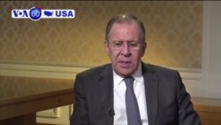 Manchetes Americanas 20 Abril: Lavrov confirma convite de Trump a Vladimir Putin