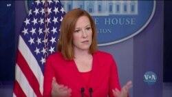 Речниця Білого Дому підтвердила, що США уважно слідкують за пересуванням російських віськ біля українських кордонів. Відео