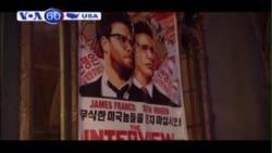 Tin tặc đe dọa tấn công các rạp chiếu phim 'The Interview' (VOA60)