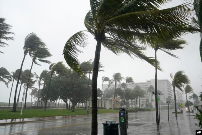 Ураган в Маямі, Флорида