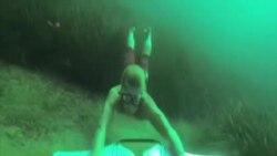 Subwing - novi sport u vodi zaludio Evropu