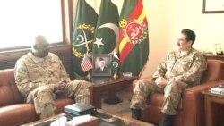 جنرل آسٹن کی پاکستانی فوج کے سربراہ سے ملاقات