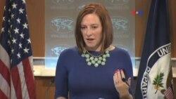 Cumplir con el Acuerdo, pide EE.UU. sobre crisis en Ucrania