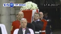 Tang lễ của cố Thủ tướng Anh Thatcher được cử hành (VOA60)