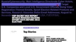 Se filtran supuestas pruebas de intervención rusa en elecciones