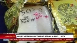 Malaysia thu giữ lượng ma túy đá kỷ lục