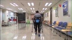 Khung đỡ chạy điện giúp hỗ trợ cử động của con người