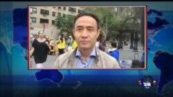 VOA连线:习近平出席联大会,再遇抗议群众