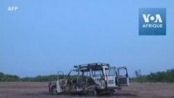 Images du site où 8 personnes ont été tuées par des hommes armés