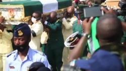 An Gudanar da Jana'izar Babban Hafsan Sojin Najeriya, Laftanar Janar Ibrahim Attahiru a Abuja