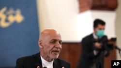 아슈라프 가니 아프가니스탄 대통령.