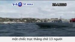 Trực thăng rơi ngoài khơi Na Uy, 11 người thiệt mạng (VOA60)
