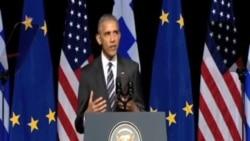 任內最後出訪 奧巴馬試圖安撫歐洲