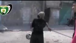 2013-04-07 美國之音視頻新聞: 敘利亞政府軍空襲阿勒頗炸死15人